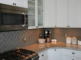 Large Tile Kitchen Backsplash Backsplash Tile Glass This Stacked In Within New Gray Subway