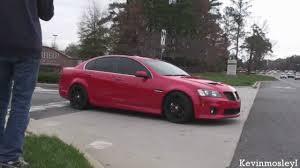 Pontiac G8 GXP sound - YouTube
