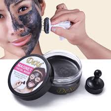 dexe face care magnetic mask anti aging deep cleansing moisturizing sea mud mask makeup set