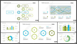 Website Design Workflow Chart Creative Business Infographic Diagram Set Can Be Used For Annual