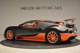 Read bugatti veyron super sport review and check the mileage, shades, interior images, specs, key features, pros and cons. Pre Owned 2012 Bugatti Veyron 16 4 Super Sport For Sale Miller Motorcars Stock 7244c