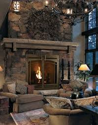 best 25 rustic fireplaces ideas on rustic fireplace