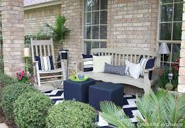 the porch furniture. Front Porch Revamp From The Creativity Exchange The Furniture