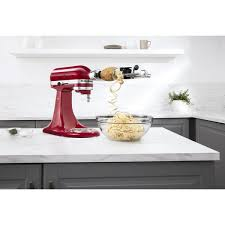 kitchenaid spiralizer attachment. kitchenaid ksm1apc spiralizer attachment kitchenaid n
