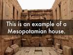 mesopotamia Houses