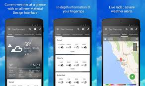 Android Weather App Design Best Weather Apps And Weather Widgets For Android