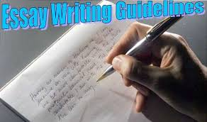 how to write an essay about yourself out using i