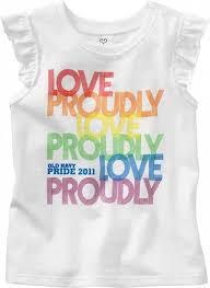 Gay pride baby clothes