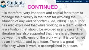 reflective essay on teamwork conclusion 21