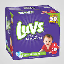 Size 1 Diapers Information Reviews Luvs Diapers