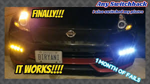370z Nismo Bumper Lights How To Install Evo R Any Switchback Drls On Your Car Fail X2