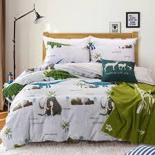 memorecool home textile dinosaur park 100 cotton fashion boys and girls bedding sets cartoon dinosaurs