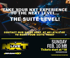 Wwe Presents Nxt Live The Ryan Center
