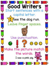 Good Writers Anchor Chart