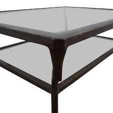 ralph lauren ralph lauren glass coffee table tables