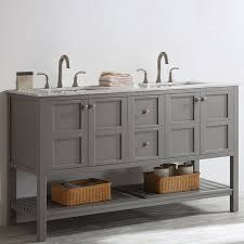 double bathroom sink vanity. caldwell 60\ double bathroom sink vanity