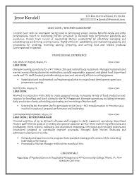 Chef Resume Templates Operations Resume Invoice Template For