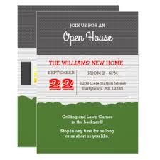 Invitation To Open House Open House Invitations Zazzle