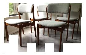small dining room table bench vine erik buck o d mobler danish dining chairs set of 4