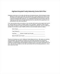 How To Plan Baby Birth Date Best Birth Plan Template