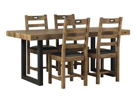 Hoxton Dining Table With 4 Chairs Furniture Village