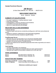 Objective For Bartender Resume Impressive Bartender Resume Sample That Brings You To A Bartender Job 18