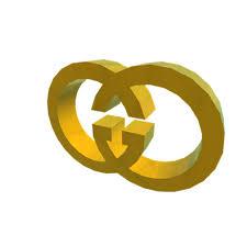 Gold Gucci Symbol - Roblox