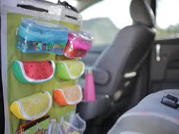 diy backseat organizer