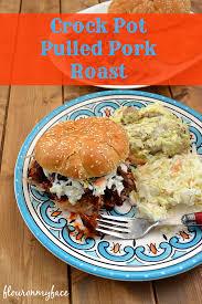 crock pot pulled pork roast flour on my