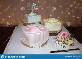 Wedding Cake Modern Designs Wedding Cake Modern French Fancy Design Stock Image Image
