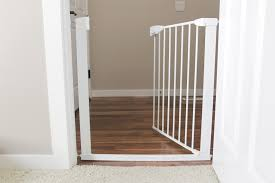 munchkin pet gate with door open