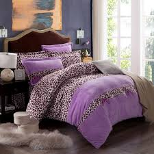 adorable print page picture more detailed about leopard bedding king size purple zebra duvet cover comforter sets p