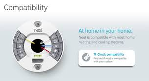 nest learning thermostat 3rd generation t3007es the home depot nest compatibility