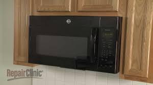 ge microwave disembly microwave