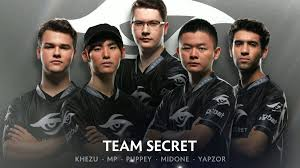 team secret players answered interesting questions from fans dota