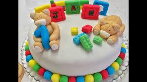 One Year Old Birthday Cake Youtube