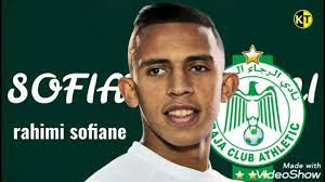 الرجاء #الرجاء_البيضاوي #المغرب رسم اللاعب الرجاوي rahimi sofiane - YouTube