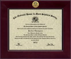 National Honor Merit Scholars Society Century Gold Engraved