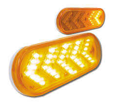 Led Caution Lights Sequential Arrow Amber Led Light