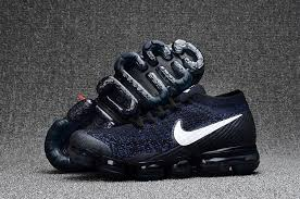 nike vapormax mens. mens nike air vapormax flyknit running shoes white dark blue