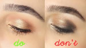 eyeshadow do s don ts 2016 tips and tricks for beginners hooded eyes you