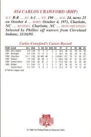 Carlos Crawford Gallery | Trading Card Database