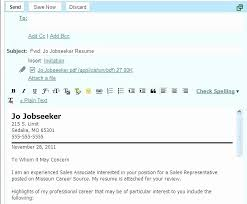 How To Send Cover Letter In Email How To Submit A Cover Letter Via
