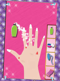 princess manicure pedicure nail art design and dress up salon game screenshot 8
