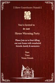 housewarming cards to print griha pravesh house warming invitations invitations greetings