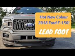 2018 ford xlt special edition.  Ford Hot New Colour LEAD FOOT And Package For 2018 Ford F150 On Ford Xlt Special Edition M