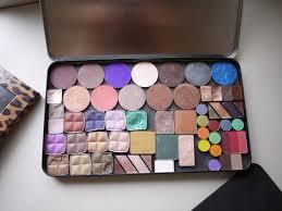 make up for ever empty palette versus z palette parison