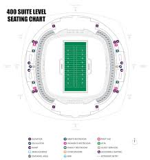 Seating Chart Superdome New Orleans Suites Mercedes Benz Superdome