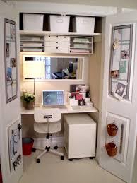 closet computer desk for small amazing computer desk small spaces