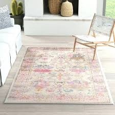 pink and grey rug next gray light blue white